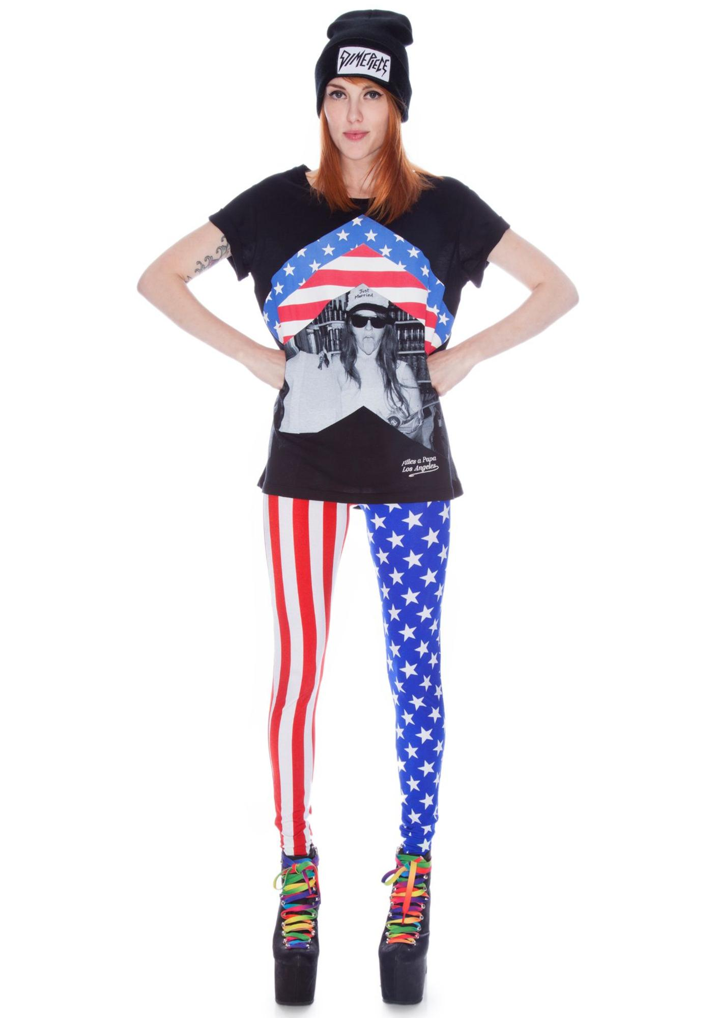 Our Prince of Peace Springsteen Leggings