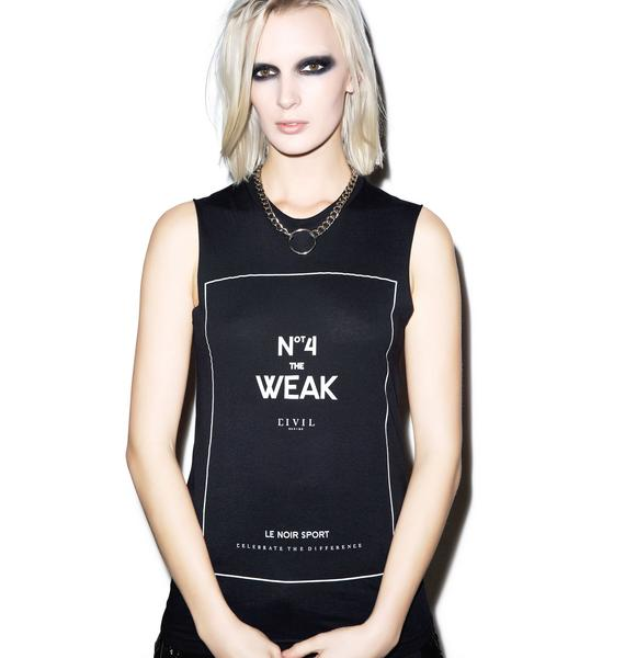 Civil Clothing Not For The Weak Muscle Tee