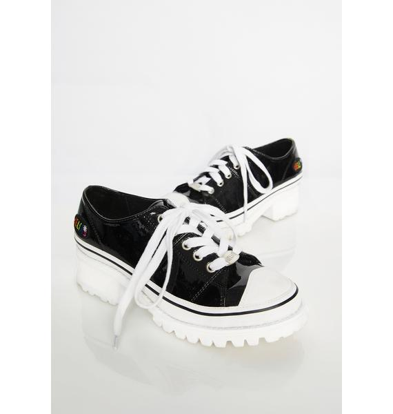 dELiA*s by Dolls Kill Comeback Kid Heeled Sneakers