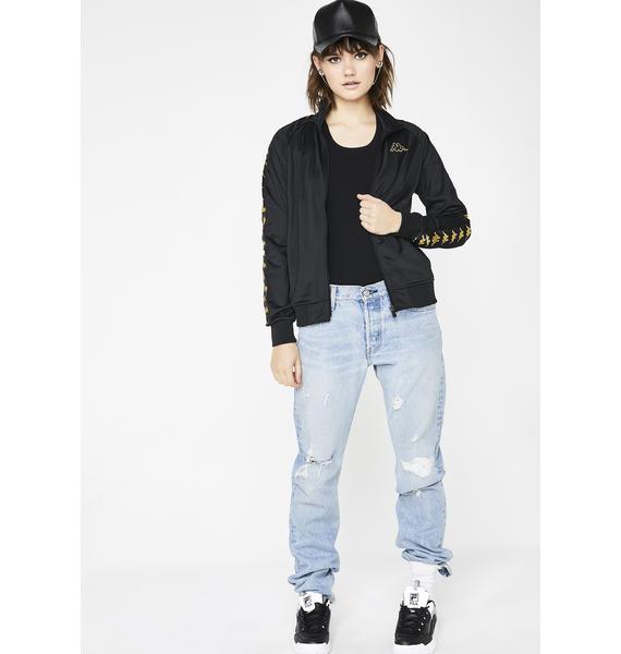 Kappa Noir 222 Banda Wanniston Slim Jacket