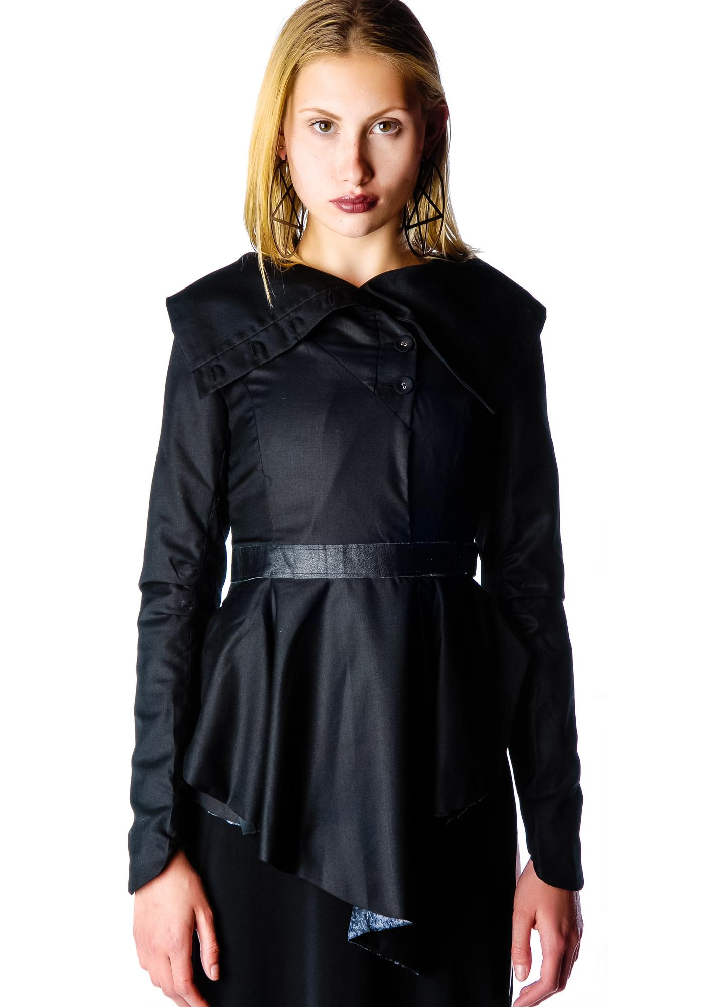 Widow Deceased But Dreaming Drape Jacket