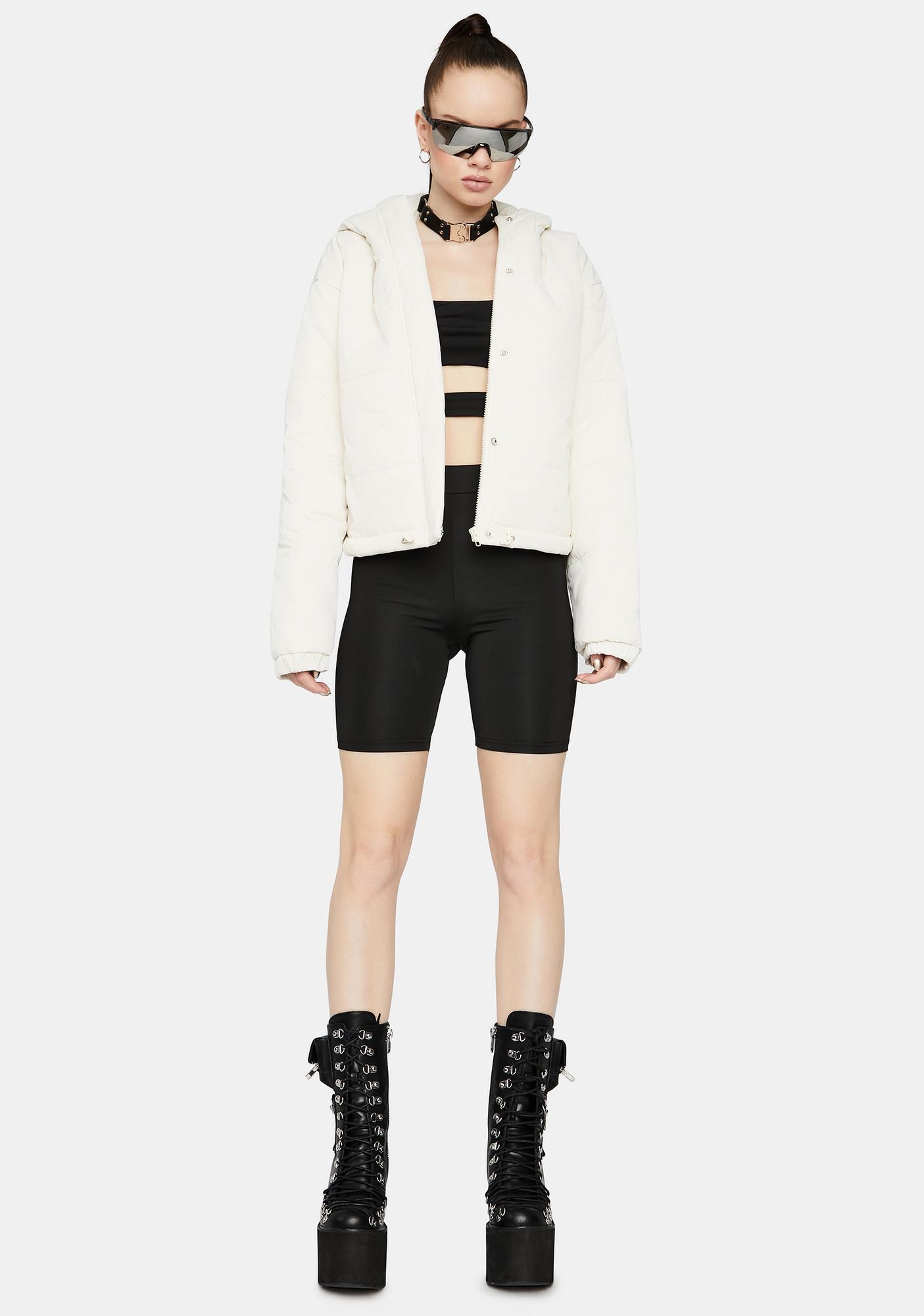 Urban Call Hooded Puffer Jacket