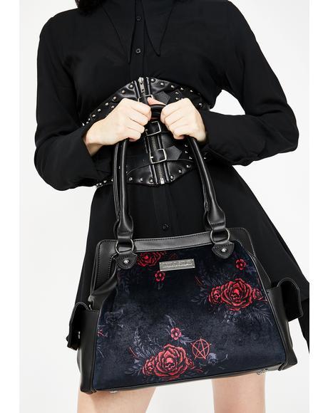 Rosalia Velvet Handbag