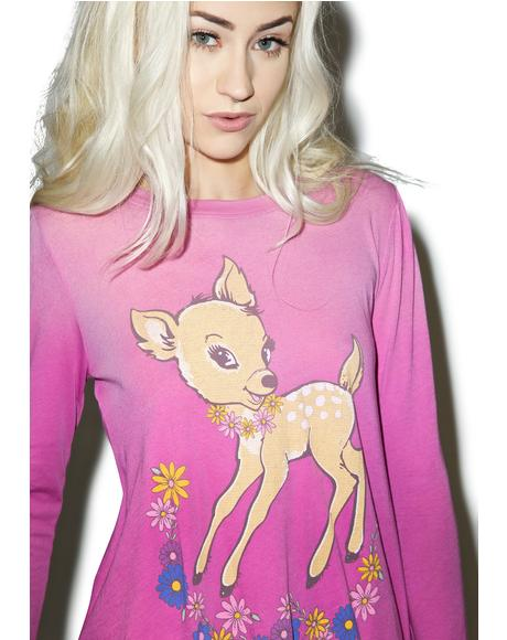 Vintage Deer Princess Tee