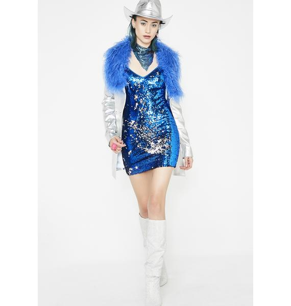 Kiki Riki Glitterazzi Sequin Dress