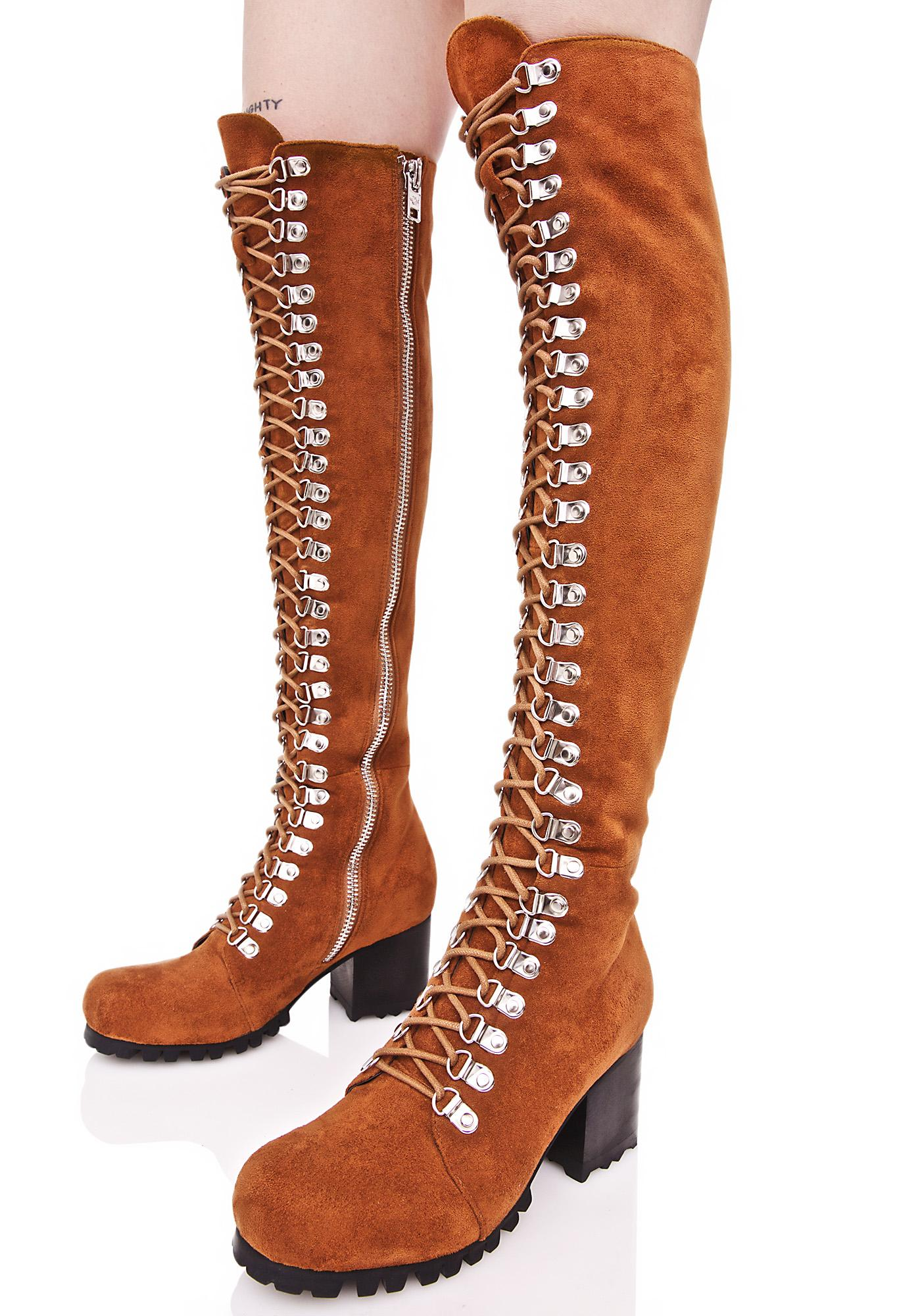 Current Mood Rust Willow Boots