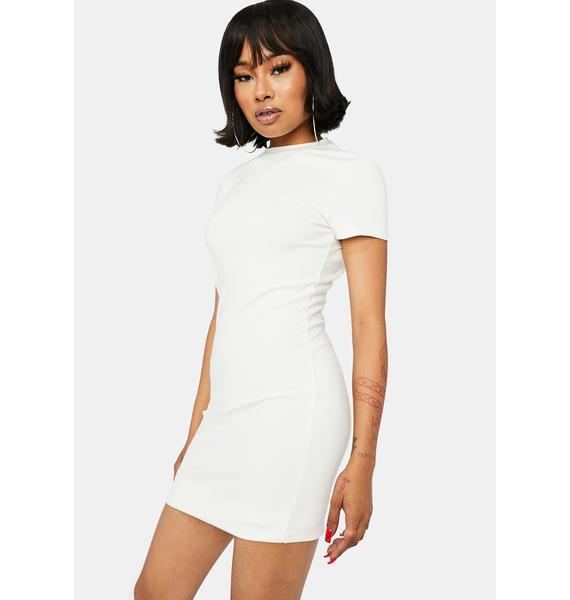 Kiki Riki Purely Cash Needed Cut Out Mini Dress