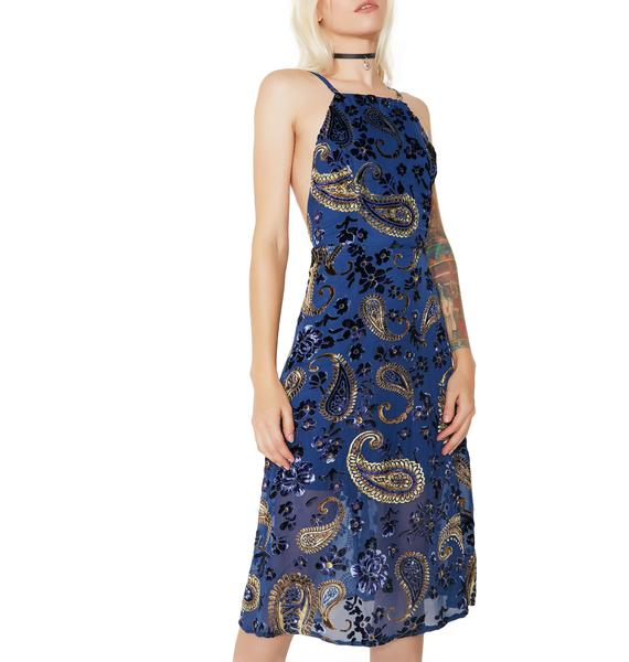 Dream State Velvet Dress