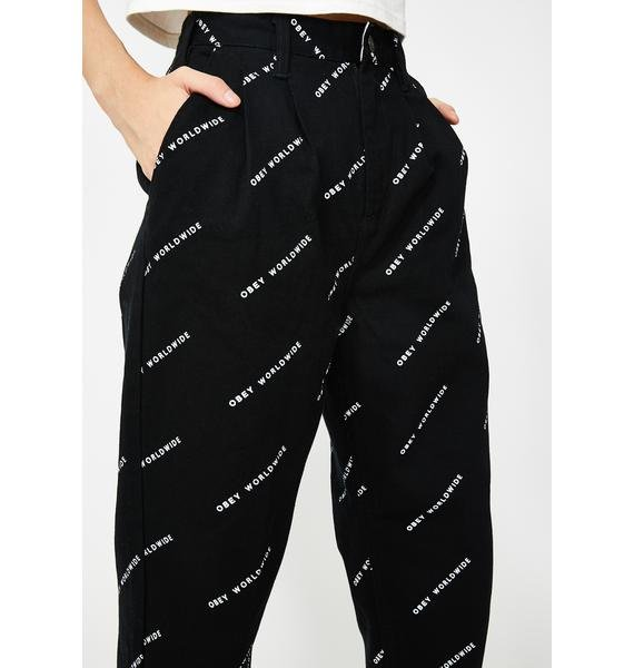 Obey Fulton Baggy Pants