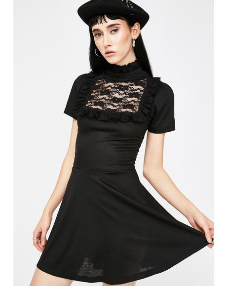 Darkness Babydoll Dress