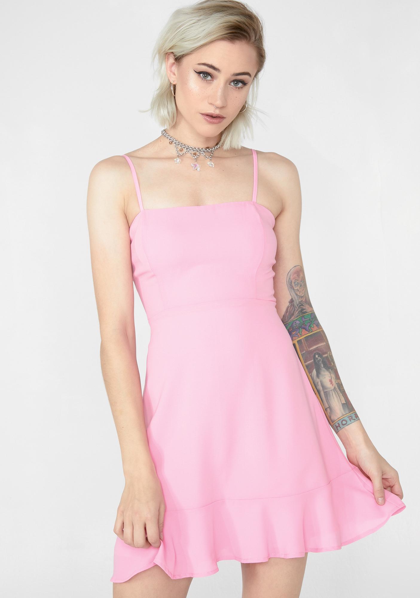 dd8a437640 Cami Fit Flare Mini Dress | Dolls Kill