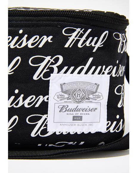 x Budweiser 6 Pack Cooler