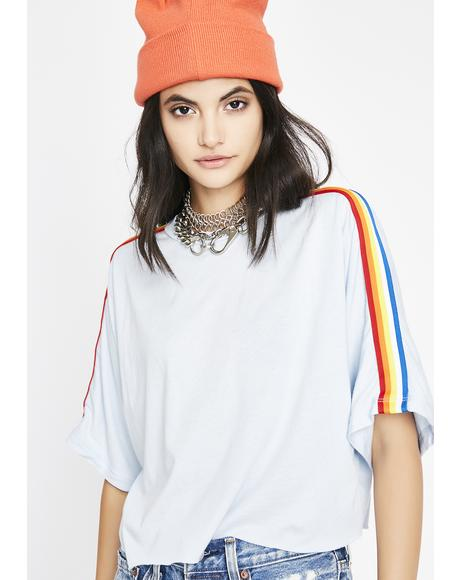 Best Life Cropped Tee