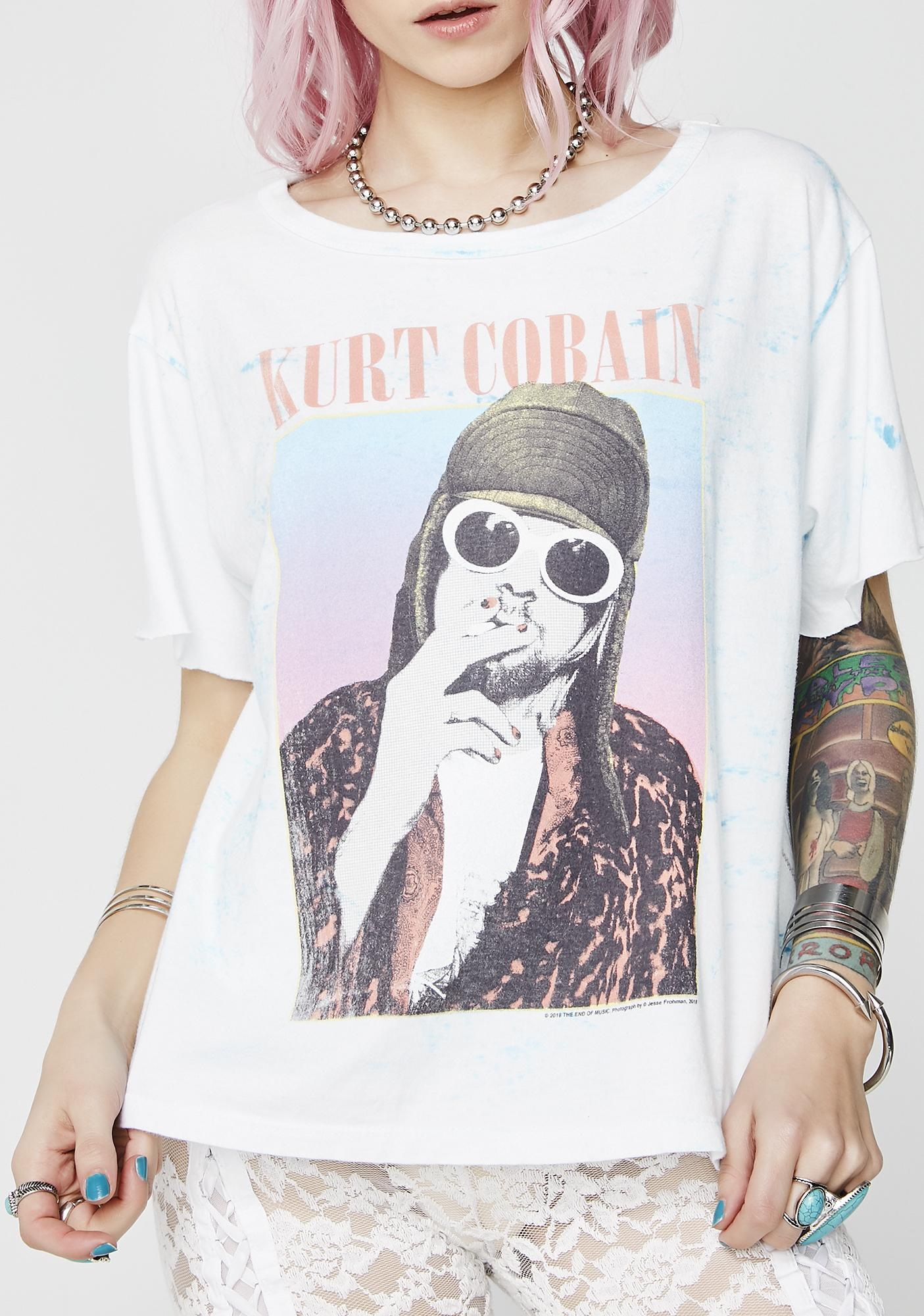 Trunk Ltd. Kurt Cobain Short Sleeve Tee
