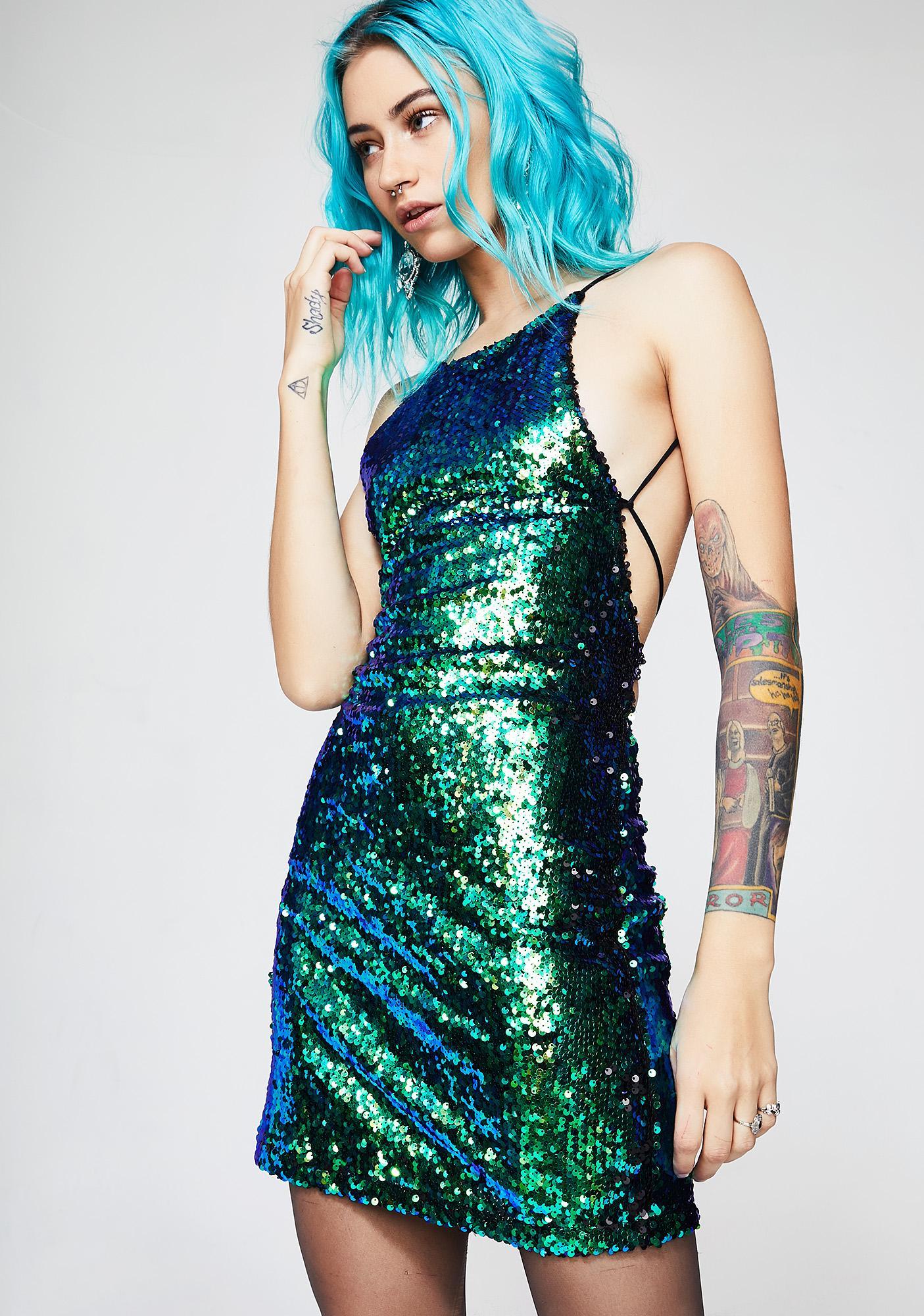 Motel Ocean Hedi Dress | Dolls Kill