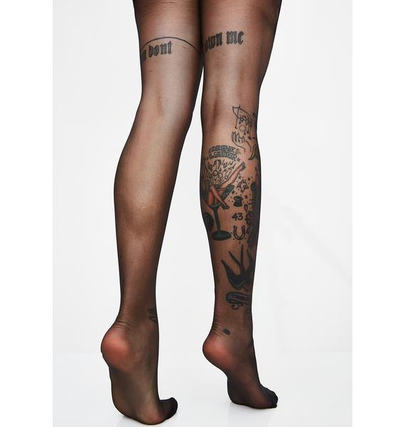 Double X Rated Sheer Tights