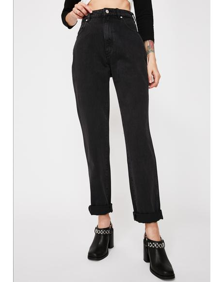 Black Steel Elle Jeans