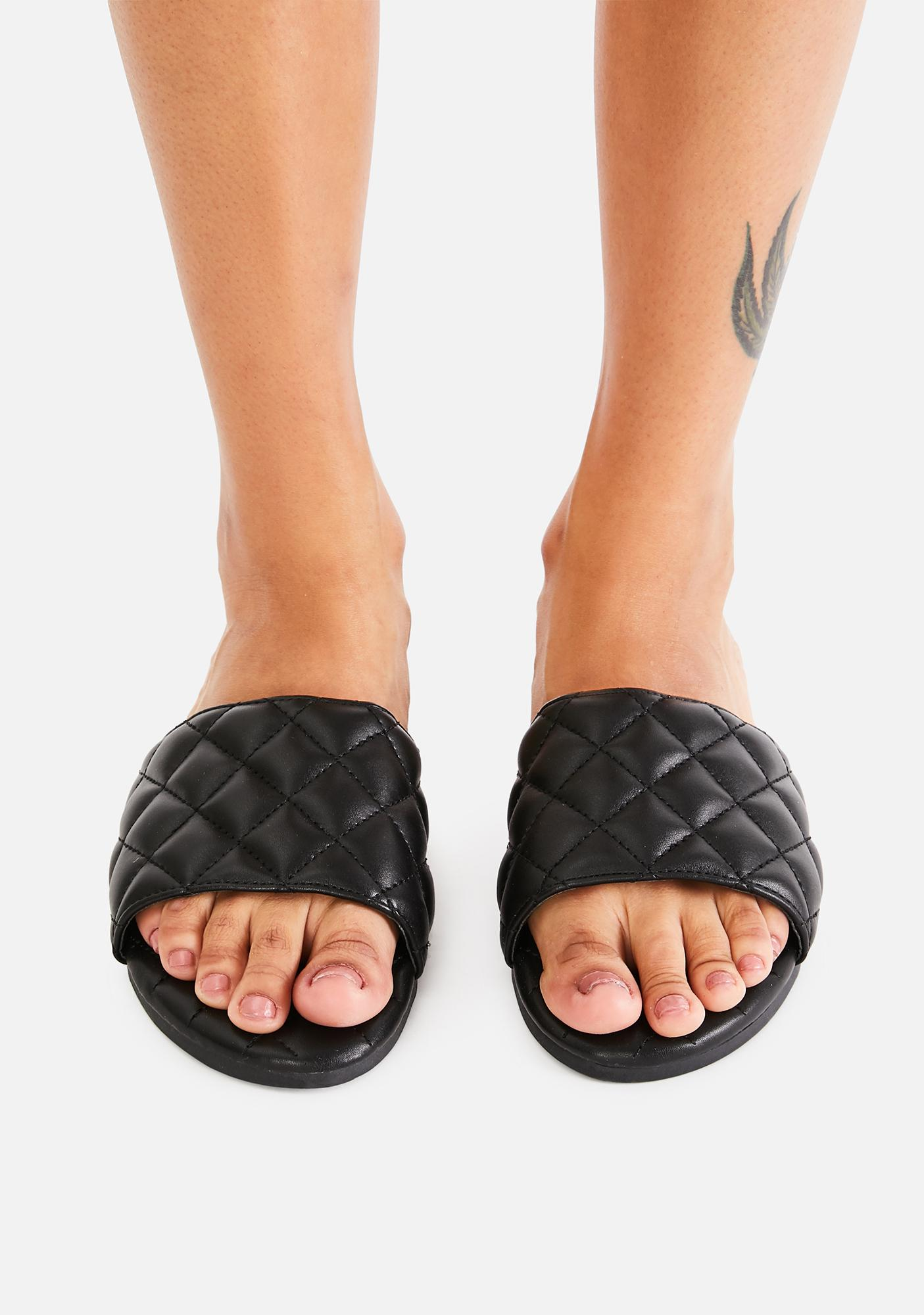 Devious Watch And Learn Slide Sandals