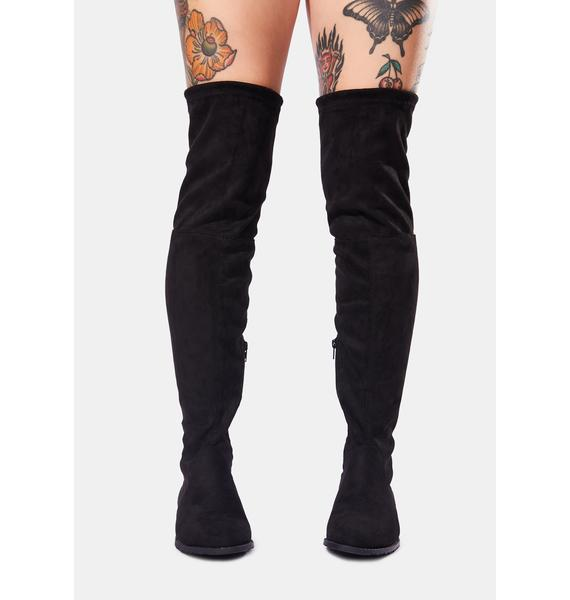Fall Time Knee High Boots