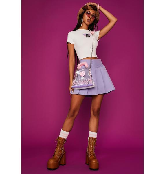 Dolls Kill x Bratz Unleash Your Passion Pleated Skirt