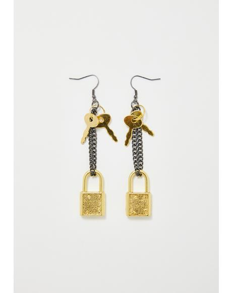 Key To The Streets Drop Earring