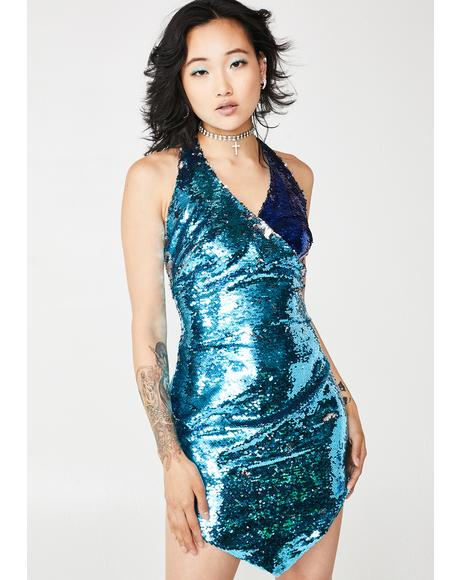 Stargazer Sequin Dress