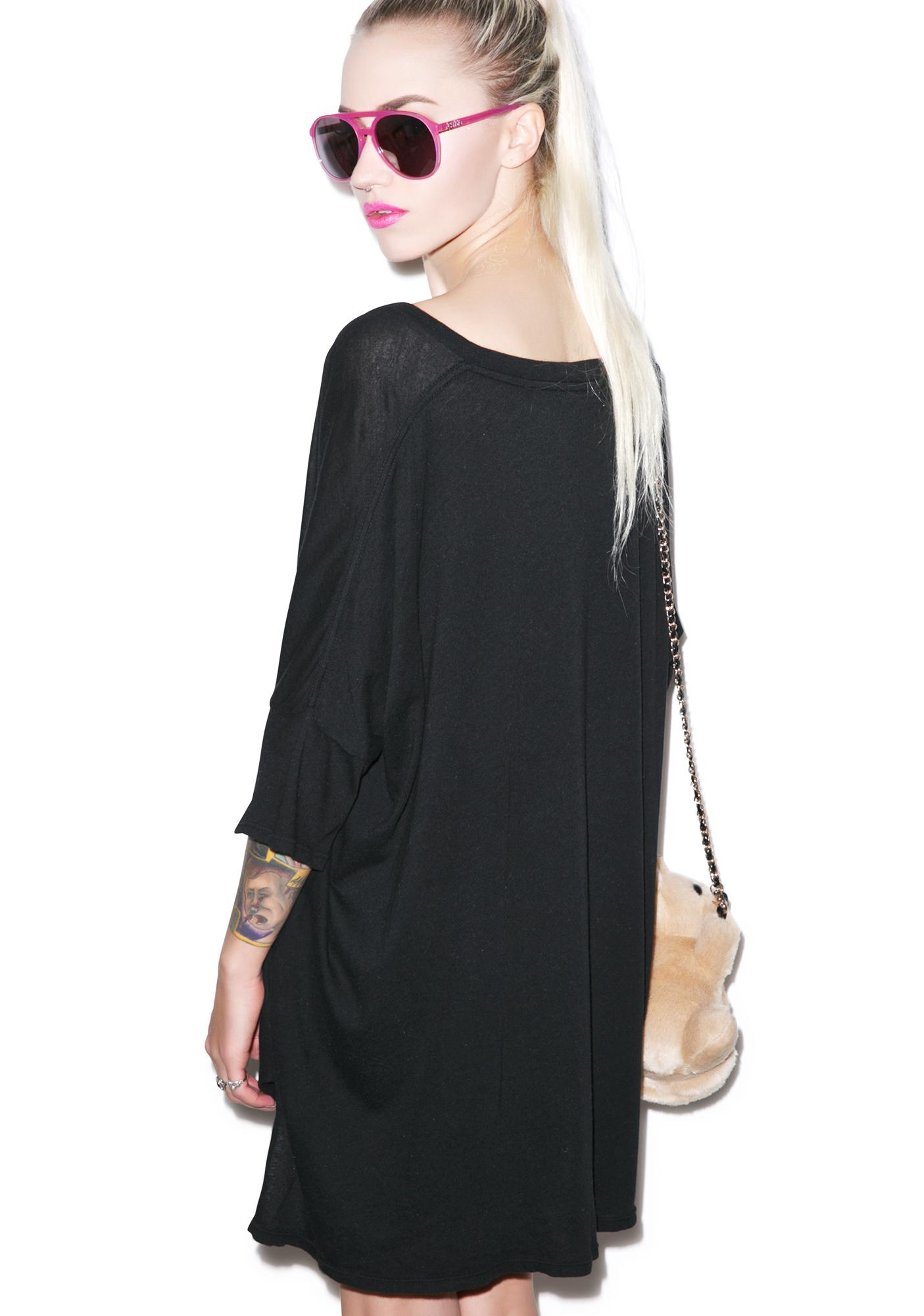 Wildfox Couture Hangover Club Sunday Morning V-neck Tee