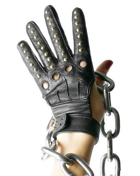 Studded Bandita Gloves