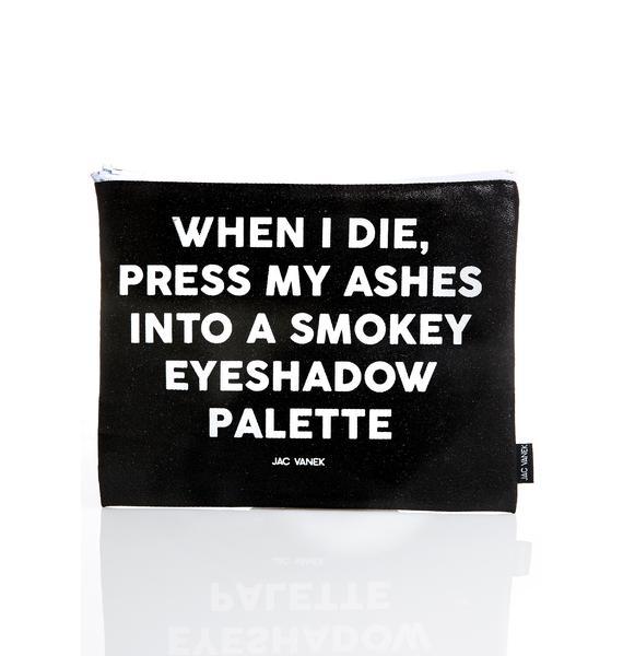 Jac Vanek Smokey Zip Pouch