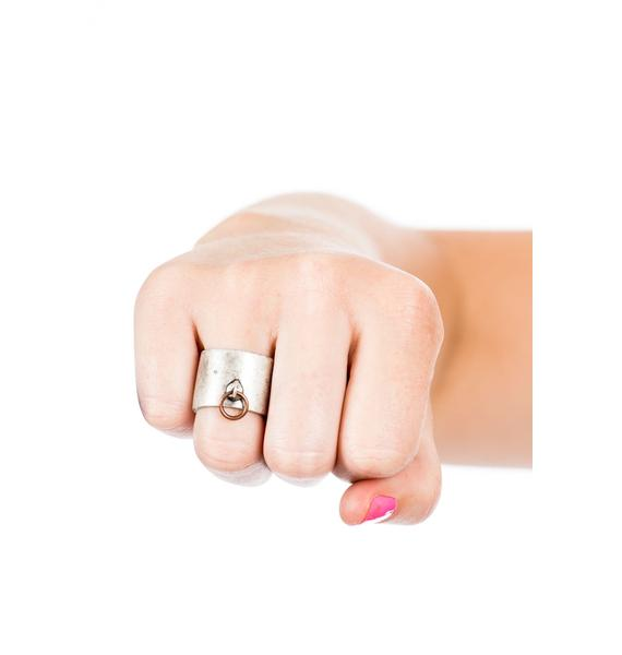 Luv AJ Padlock Ring