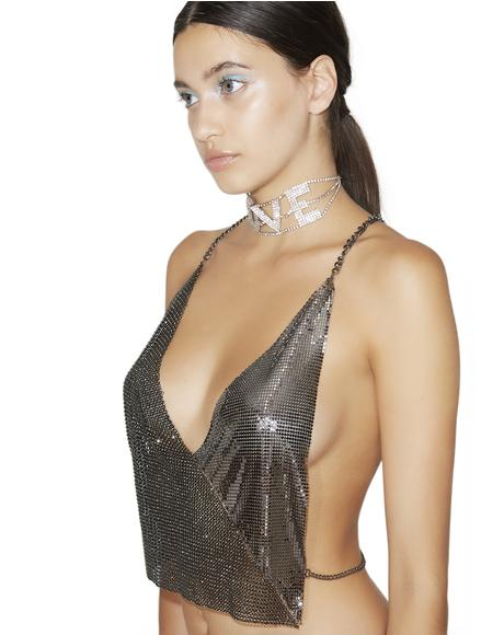 Wishful Sinful Chainmail Top