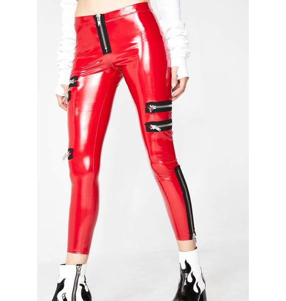 Current Mood Fiery Personality Crisis Leggings