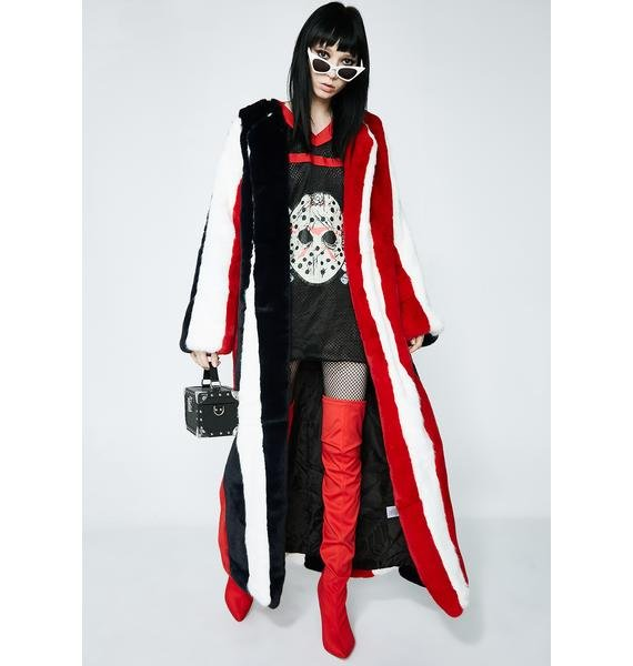 Furtastic Longline Coat