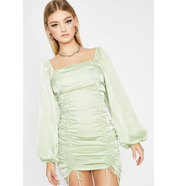 All Of Me Ruched Dress