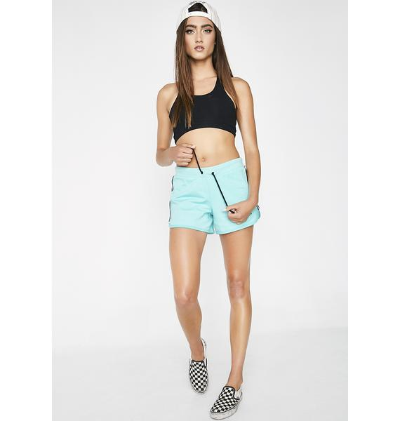 Kappa Azure Authentic Custard Shorts