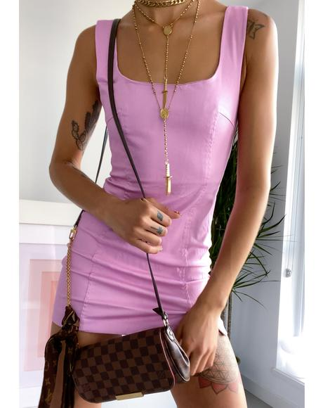 Lavender Lust For Life Mini Dress