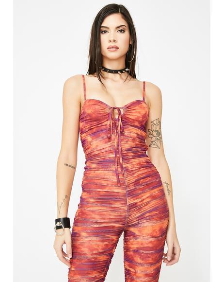 Colette Tie Dye Jumpsuit