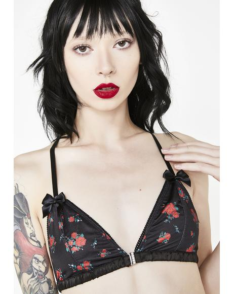 Wicked Buy Me Roses Bralette