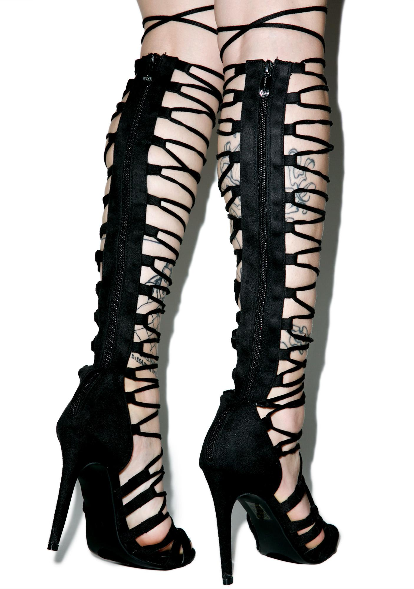 Supermodel Strappy Heels