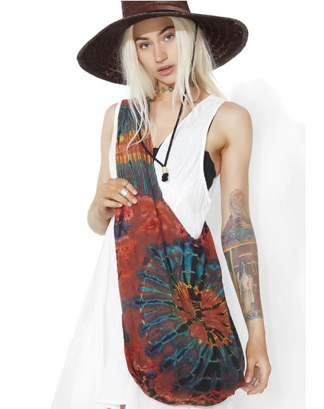 Wayfarer Tie-Dye Shoulder Bag