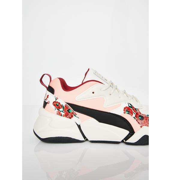 PUMA x S.Tsai Nova Cherry Bombs Sneakers
