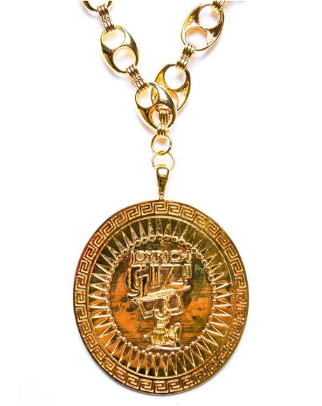 x Giza Shield Necklace