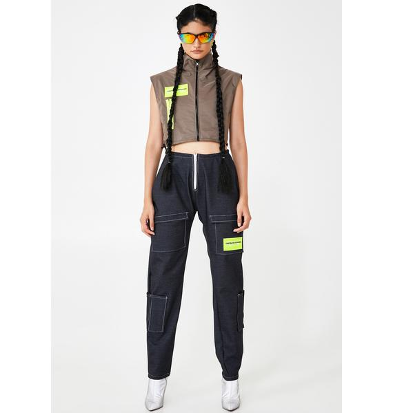 Constructed for Women Cropped Spring Vest