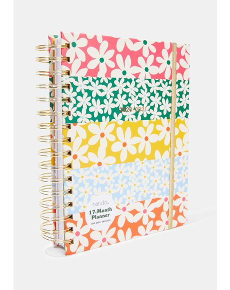 Daisy 17-Month Planner