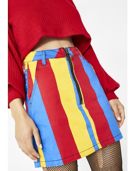 Primary Interest Mini Skirt