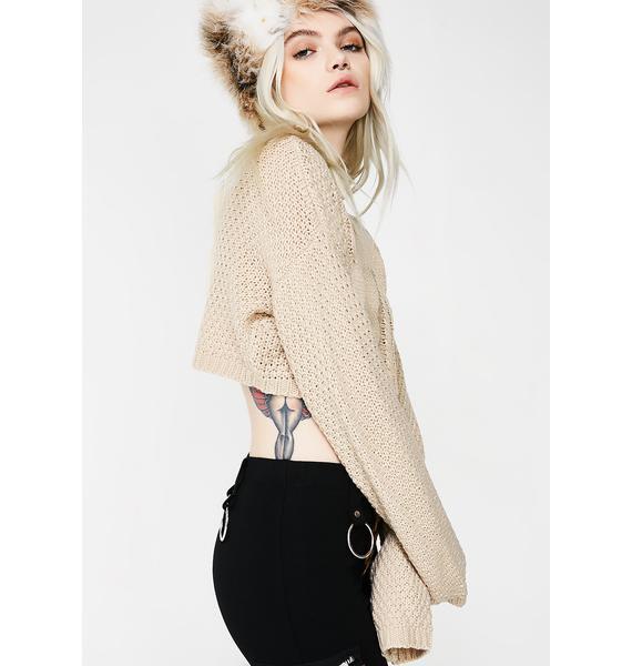 Playa Sweet Thang Crop Sweater
