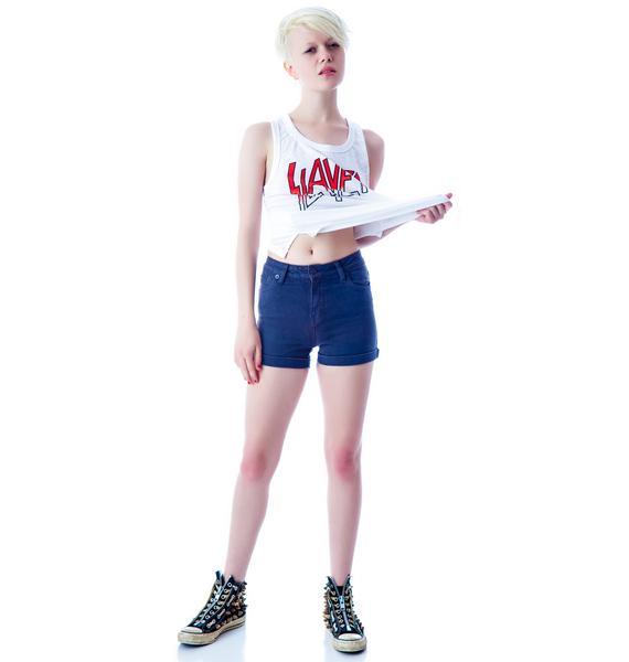 Kill City Hi Wire Stretch Jean Shorts