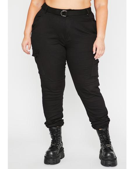 Mz Onyx Talk Mean Cargo Joggers