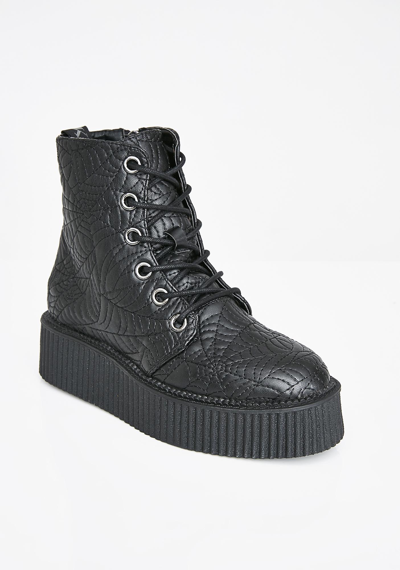 Killstar Coffin Creeper Boots