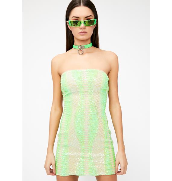 Werq Wonders Sequin Dress